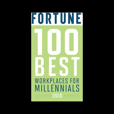 100 best workplaces for millennials 2019 award