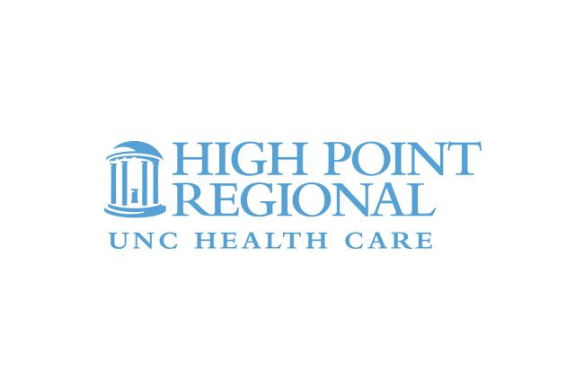 high point regional UNC health care logo