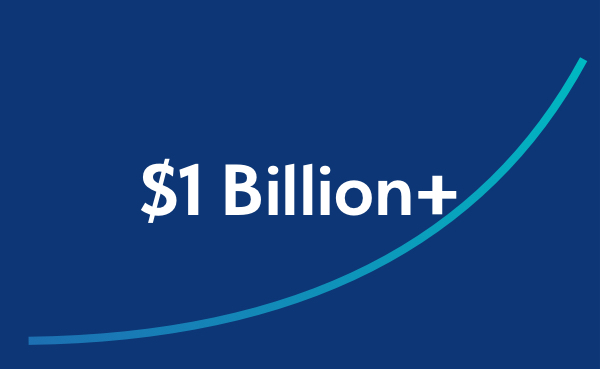 one billion dollar graphic
