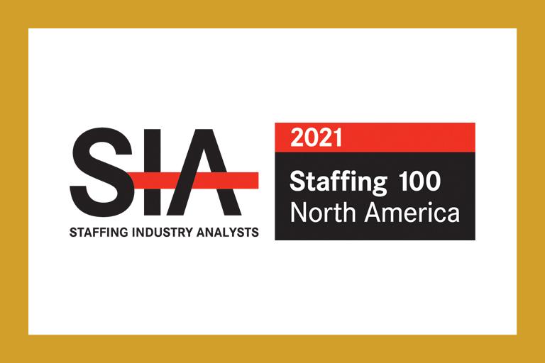 SIA Staffing 100 logo